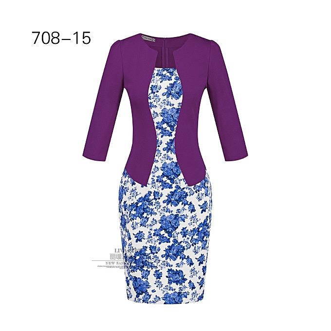 OEM nouveau arrivel femmes& 039;s professional sac hip pencil mode comfortable Robe-15 à prix pas cher