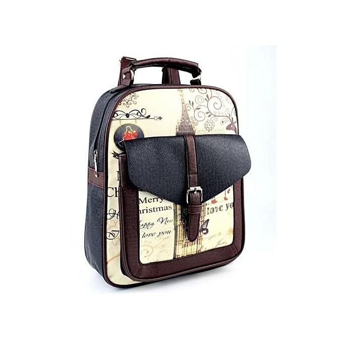 Generic femmes mode Simple Satchel sac à dos sac à dos Shoulder School BK à prix pas cher