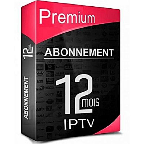 12 mois Abonnement IPTV + VOD + Series SmartTv, Xtream Code,Récepteur, Box,  MAG