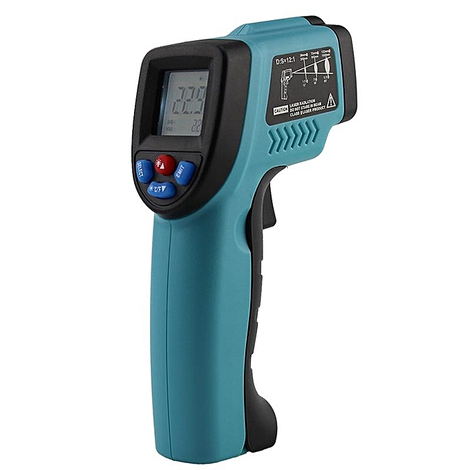 Other 50550 C Digital infrarouge Thermometer Pyrometer Aquarium laser Thermometer Outdoor thermometer (bleu) LJMALL à prix pas cher