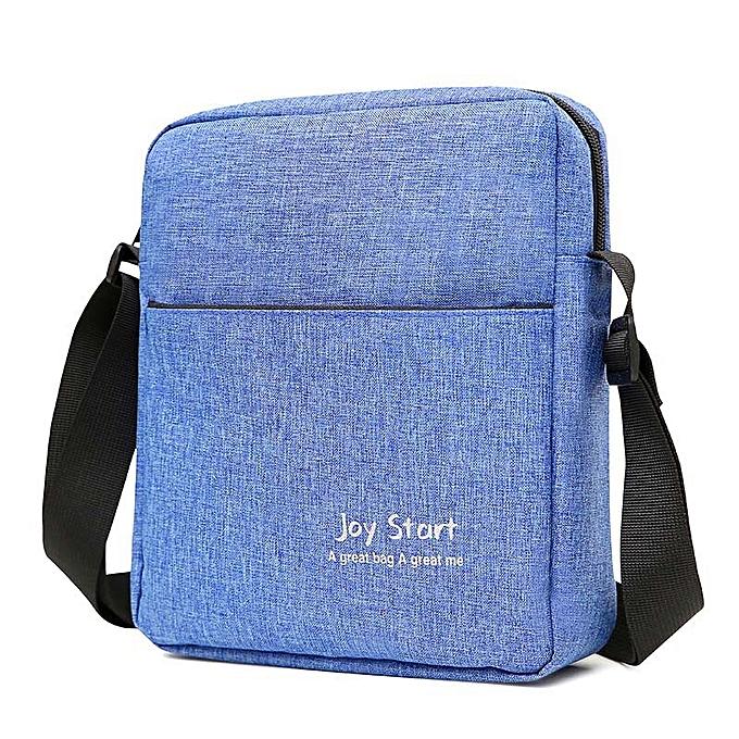 Other Cross Body Crossbody Shoulder For  Male Messenger Bag femmes Men Handbag Document Sholder Satchel Sac A Main Bolsas Bolsos(bleu) à prix pas cher