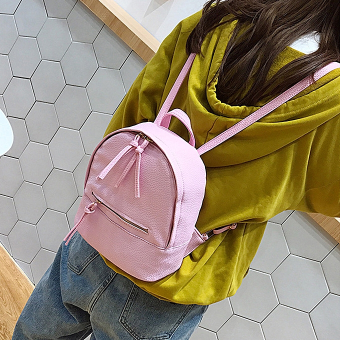 nouveauorldline Wohommes Preppy Style Letter sac à dos Mini voyage Shoulder sac PK-rose à prix pas cher