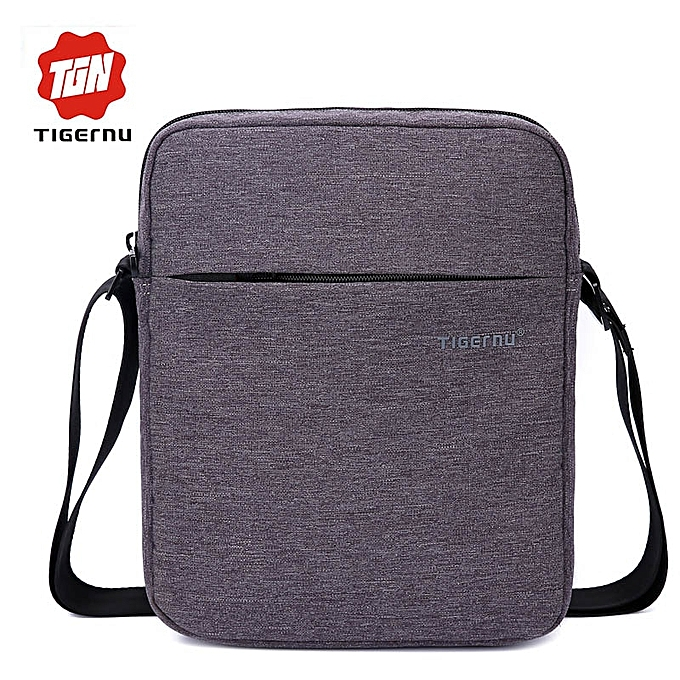 Other Tigernu Brand Men Waterproof Oxford travel Bag Business Casual Briefcase Crossbody bag male shoulder bag(Dark gris) à prix pas cher