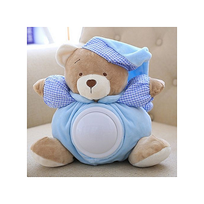 Generic 30cm Bear voituretoon Plush Toy Cute Music Bear Doll Stuffed Interactive Toys à prix pas cher