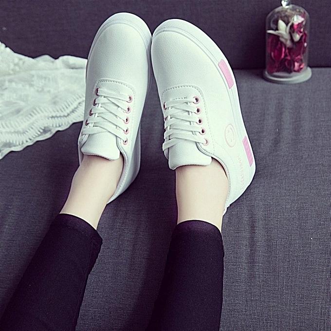 Autre 2018 New Smiling Face Schoolgirls' White White White Shoes à prix pas cher  | Jumia Maroc | être Dans L'utilisation  fea2c9