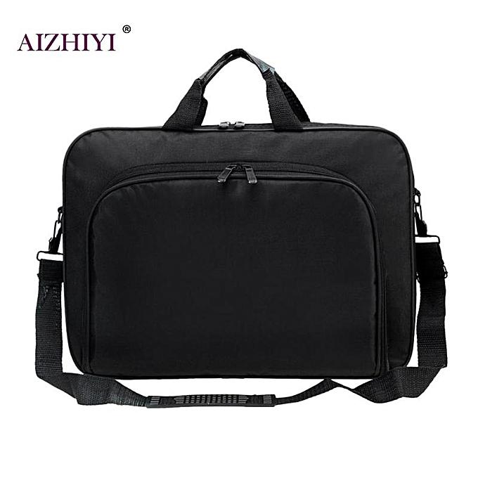 Other Hommes femmes Affaires Nylon Computer Handsacs portable Uni  Shoulder Office Laptop Simple sacs Briefcase noir Totes 15 Inches( ) à prix pas cher