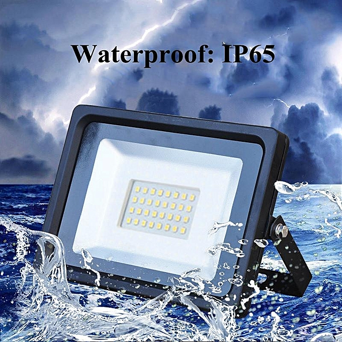 UNIVERSAL 30W LED Thin Flood Spot Light Outdoor Garden Landscape Lamp Waterproof à prix pas cher
