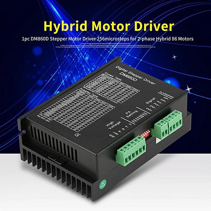Other DM860D Stepper Motor Driver 256microsteps For 2-phase Hybrid 86 Motors à prix pas cher