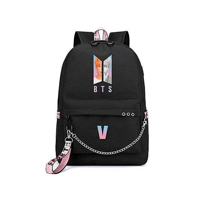 Other mode sac à dos School sacs for Teenage Girls voyage Shoulder sac à dos sacs toile Print sac à dos Laptop sac à dos(noir-12) à prix pas cher