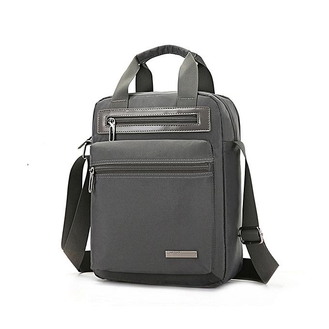 Fashion Men Nylon Waterproof Handbag Minimalist Fashion Casual Tablet Bag Shoulder Crossbody Bag à prix pas cher