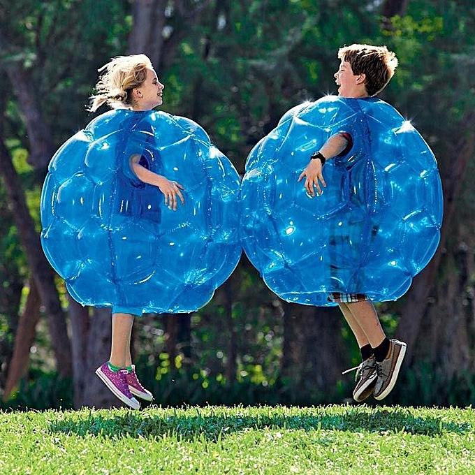 UNIVERSAL 90cm PVC Buddy Bumper Ball Inflatable Body Bubble Kids Football Soccer Outdoor à prix pas cher