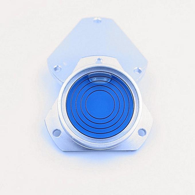 Autre Hot sale   High Quality Triangular metal water level meter Universal level Round Metal vial bubble spirit level Taille 483513mm(bleu) à prix pas cher
