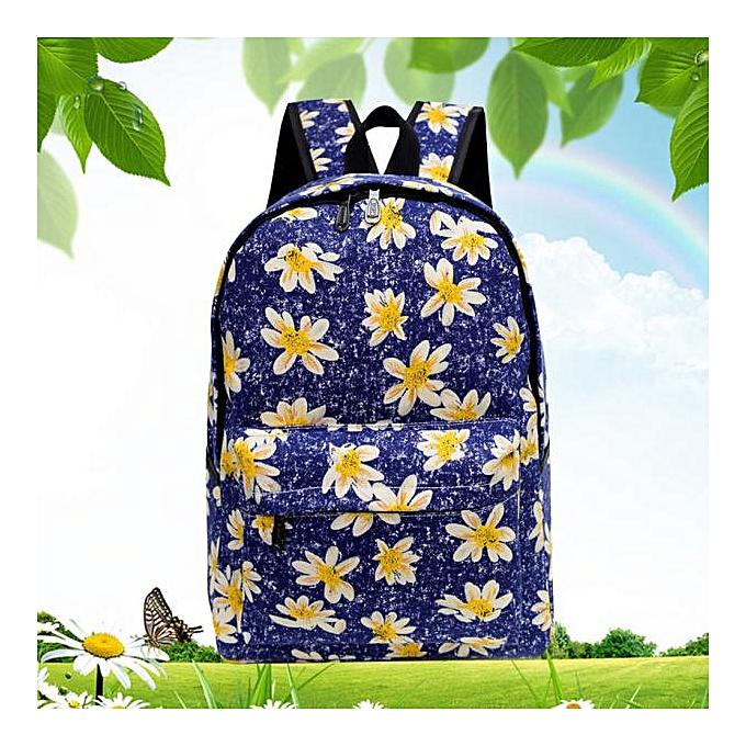 Fashion Singedan Shop femmes Canvas Rucksack Backpack School Bag Book Shoulder Bag DB à prix pas cher