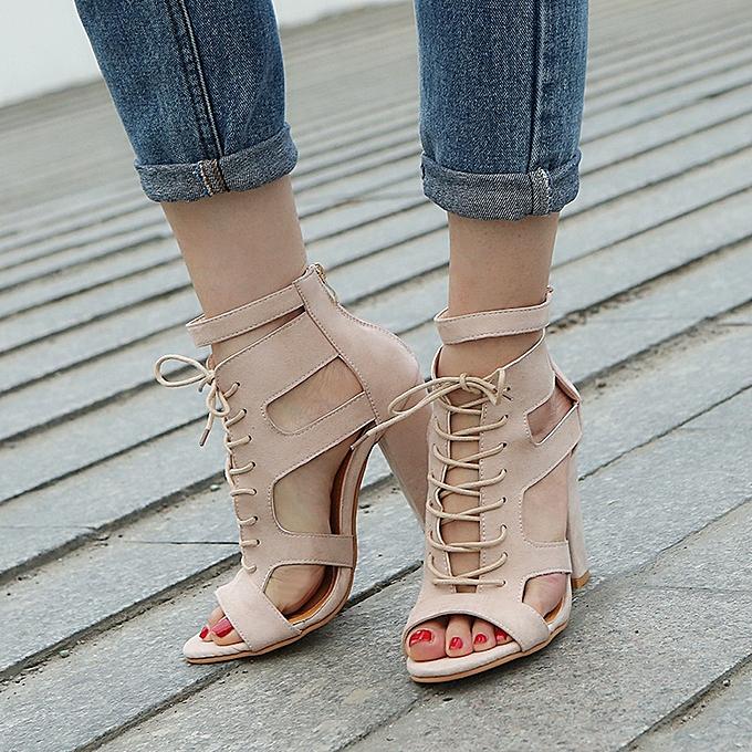 Générique Chaussures à à Chaussures Talons pour Femmes - Beige à prix pas cher  | Jumia Maroc 2d5a0d