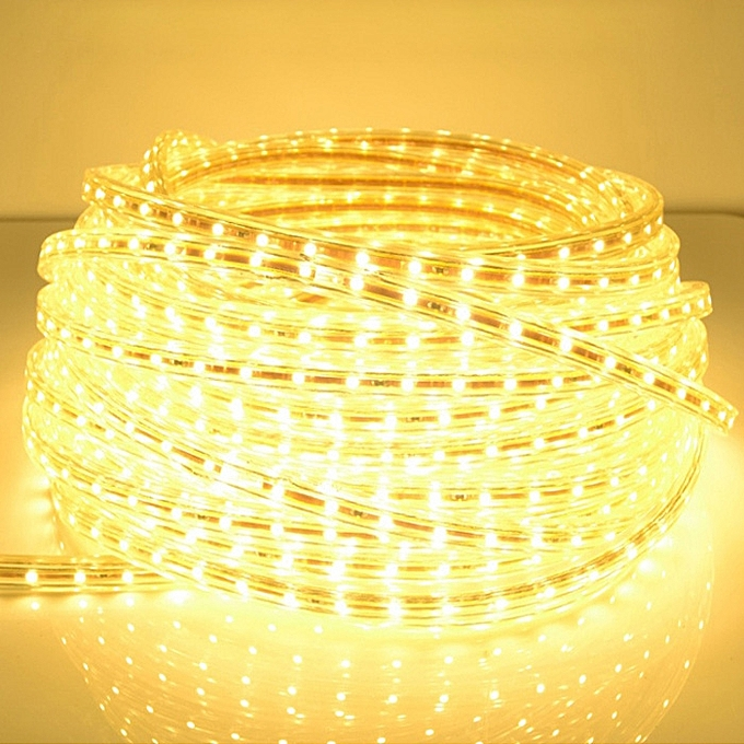 Sunsky Casing Waterproof IP65 SMD 5730 LED Light Strip With Power Plug, 120 LED m,  Length  5m, AC 220V(Warm blanc) à prix pas cher