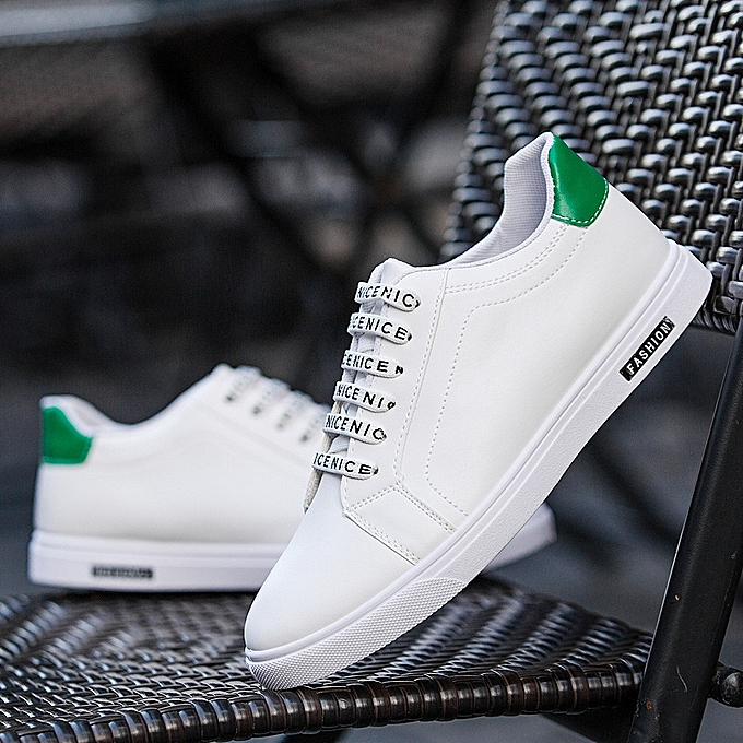 OEM New hommes chaussures hommes casual chaussures hommes Korean version of the trend chaussures youth chaussures breathable chaussures-vert à prix pas cher