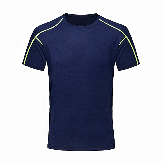 Fashion whiskyky store Men's New Outdoor Quick-Drying Sports T-Shirt In Summer Exercise Fitness Blouse à prix pas cher