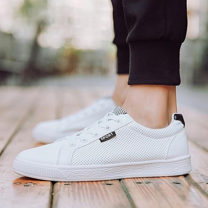 Other Antiskid Breathable Men's blanc chaussures à prix pas cher