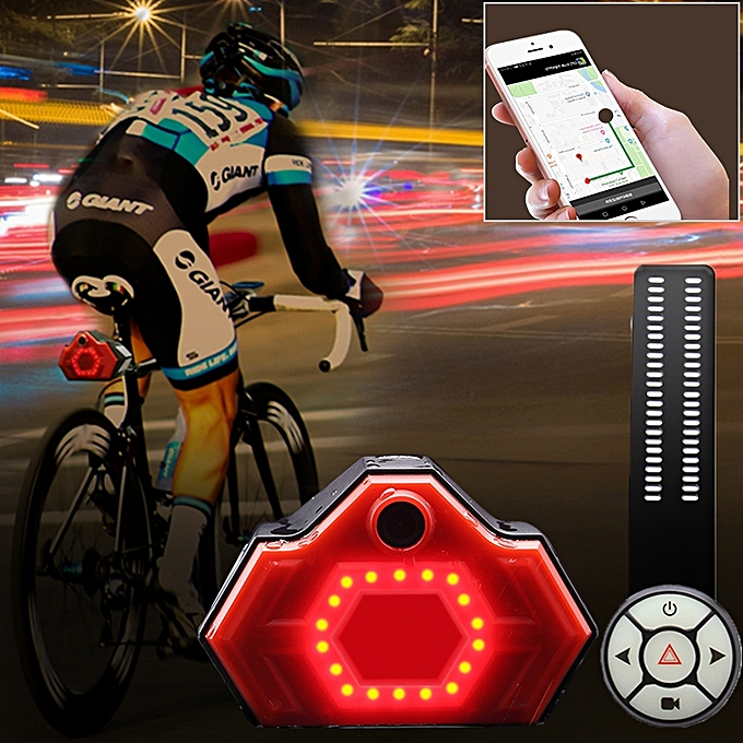 UNIVERSAL BW-189 Bicycle Multi-functional HD Video Recorder, Link with iOS   Android à prix pas cher