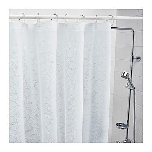 ikea Rideau de douche blanc, 180x200 cm à prix pas cher | Jumia Maroc