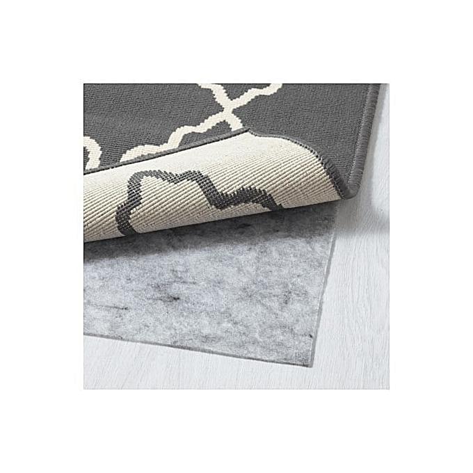 Ikea Tapis Poils Ras Gris Fonce 160x230 Cm A Prix Pas Cher