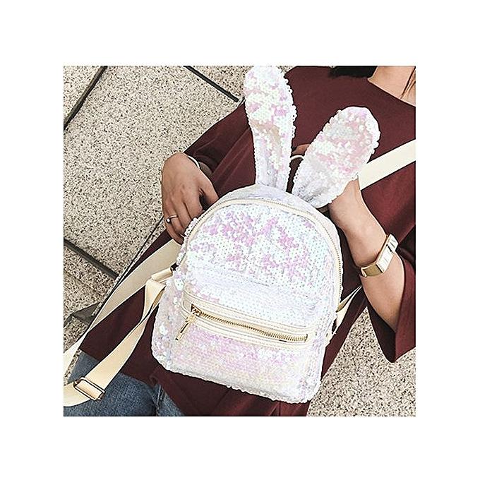 mode Xiuxingzi mode Girls Sequins sac à dos femmes Leisure School sac voyage Pack sac à doss WH à prix pas cher