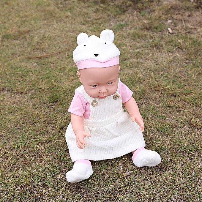 Autre Sunborui 41cm Simulation Reborn Baby Doll Kids Dormir Jouet Émulation Jouets   Fille à prix pas cher