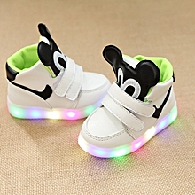 8742d58597d52 New Stylish Cartoon Mickey Baby  039 s Led Lighting Sports Shoes