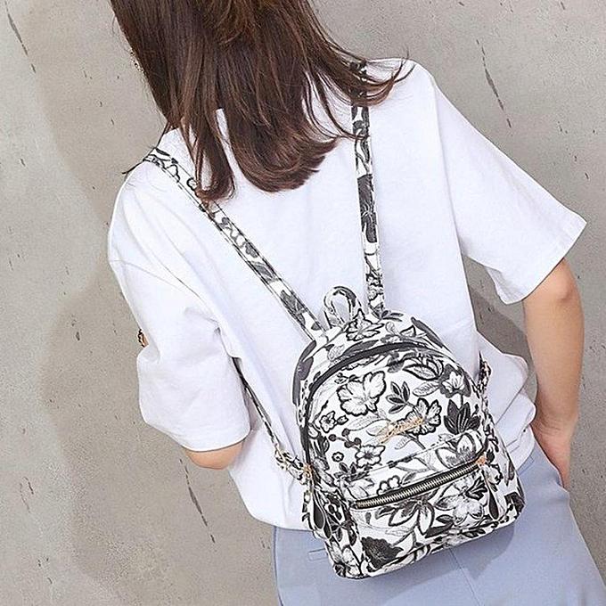 mode voyage School femmes FFaibleer Embroidery Multifuncional sac à dos Zipper Tote Shoulder sac Famous Brands petit sac à dos à prix pas cher