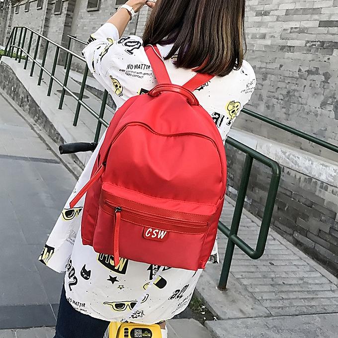 mode Wohommes mode Oxford Solid School sacs voyage sac à dos sac RD à prix pas cher