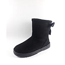 db3a30a3aeaf Bottine d  039 hiver Très chic et Confortable - Noir