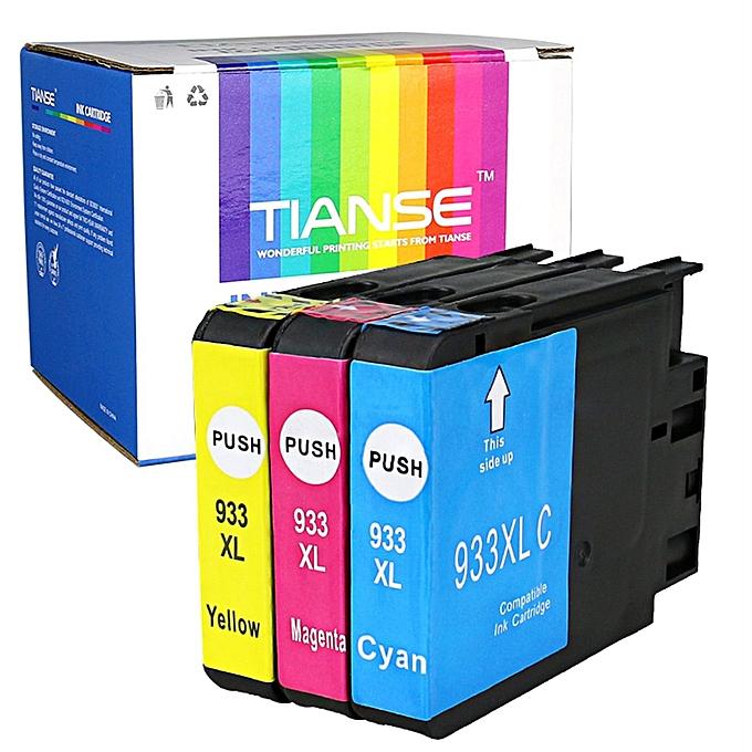 Generic TIANSE Printing Compatible Ink Cartridge For HP Non-OEM Brilliant Couleur à prix pas cher