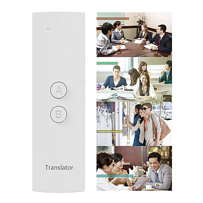 Other Travel Simultaneous Accurate Smart Real Time  Learning  Portable Voice Translator Multi-language Fast Meeting DJLAB à prix pas cher