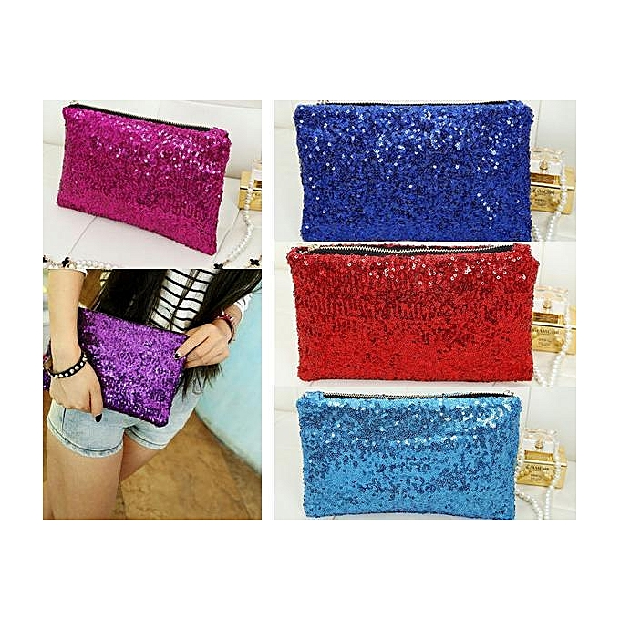 New Fashion Style Women s Sparkle Spangle Clutch Evening Bag Wallet Purse Handbag .