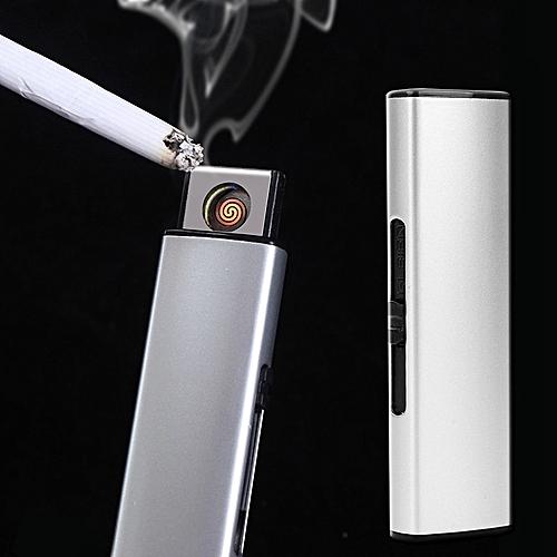 USB Briquet Électronique Rechargeable Cigarette Briquet Coupe-Vent Plasma  ARC Léger Encendedor Fumer Gadgets Pas de Gaz Hommes femme