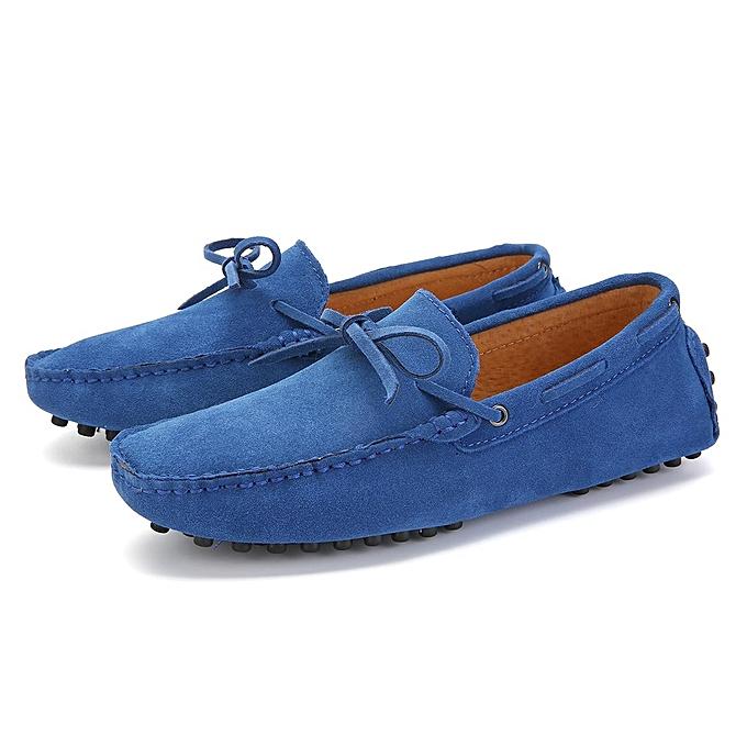Fashion Fashion  's Loafers Driving Moccasins Soft Flats Suede Leather Penny Flats Soft Casual Walking Work Party Club Shoes-EU à prix pas cher  | Jumia Maroc e87b2a
