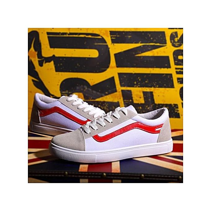 OEM nouveau hommes toile chaussures Faible to Aidez-moi Décontracté Korean chaussures trend respirant couple chaussures-rouge à prix pas cher