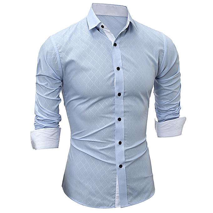 Fashion (Xiuxingzi) Men Fashion Printing Men's Long-sleeved T-shirt   à prix pas cher