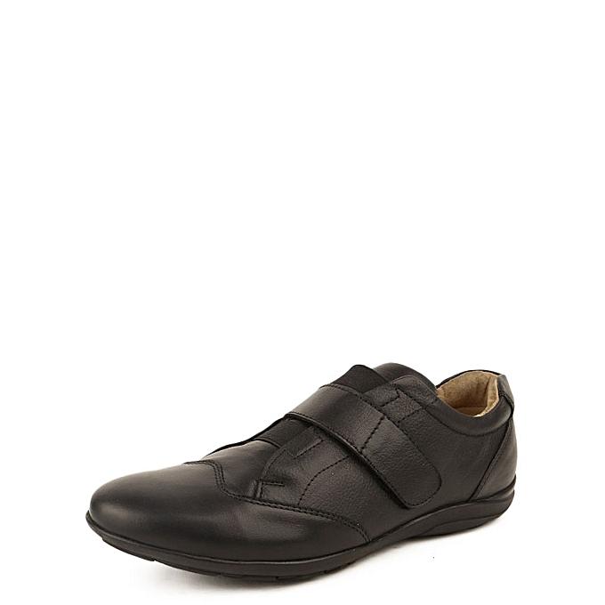 MAGAZTII Chaussures à scratch 100 % Cuir - Noir. à prix pas cher    Jumia Maroc