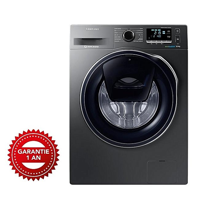 samsung machine laver 9 kg inox eco bubble addwash. Black Bedroom Furniture Sets. Home Design Ideas