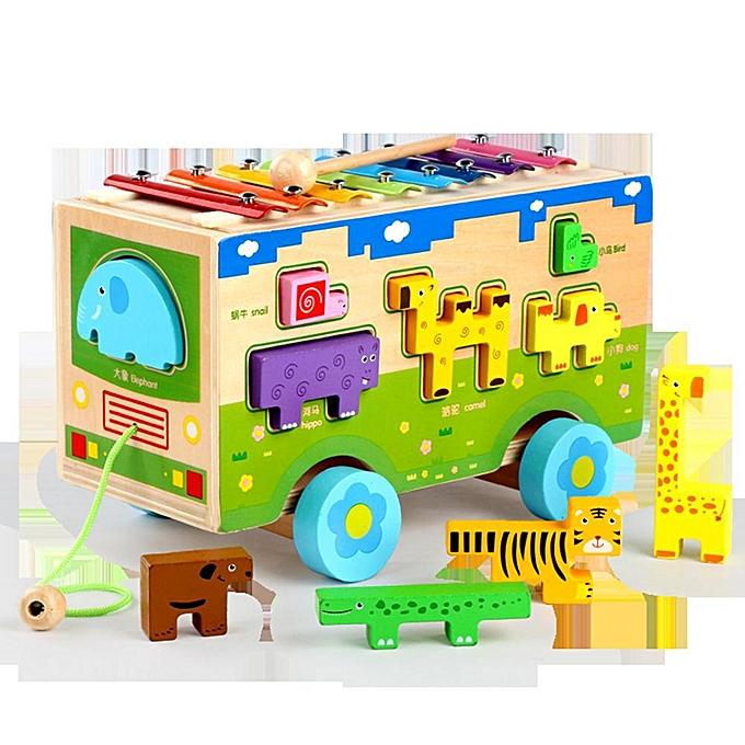 Autre Free Spirit ctional En Bois Marteau Box Jouet Apprentissage Éducatif Jouet Éducatif Building Block Enfants Cadeau à prix pas cher