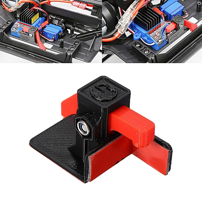 UNIVERSAL ESC Easy Start Trigger Power Transfer Switch For TRX4 TRAXXAS 1 10 à prix pas cher