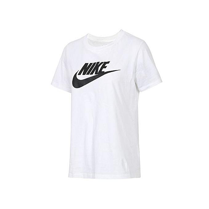 e12075db Nike Summer Women's White Short-sleeved T-shirt BV6170-100