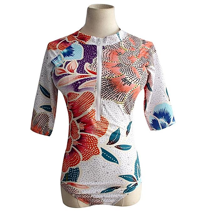 Autre nouveau Padded maillot de bain Rash Guard manche longues Sleeveless maillot de bain Rashguard Printed Surf Wear Bodysuit Bathing Suit(Style 16) à prix pas cher