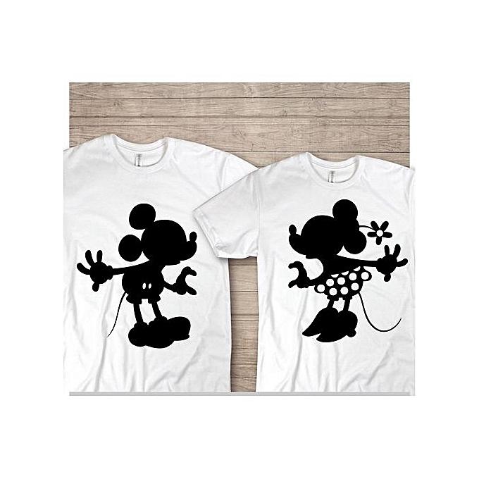 Generic t-shirt pour les couples spéciale et unique à prix pas cher