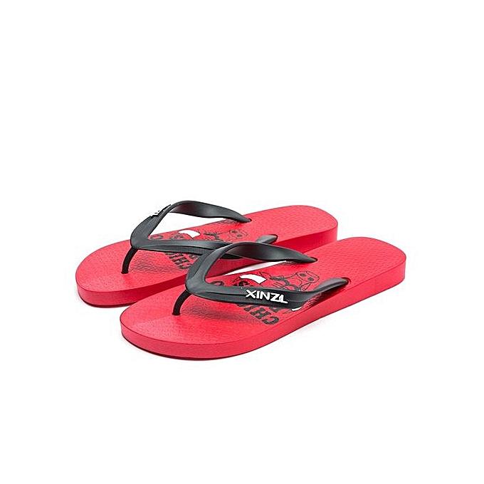 OEM Large Taille Fashion boys flip celtic cartoon flip-flops non-slip sandals hommes casual beach chaussures-rouge à prix pas cher