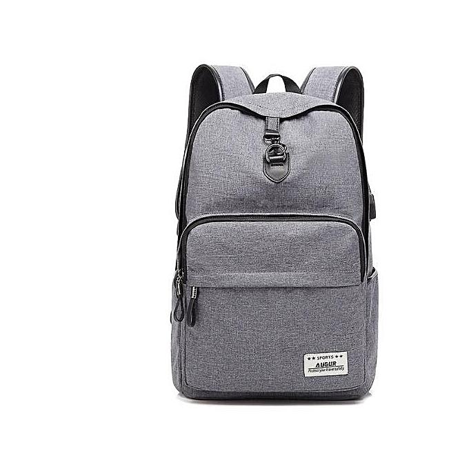 OEM nouveau style nouveau Design mode Solid Couleur toile Hommes's sac à dos Student sac à prix pas cher