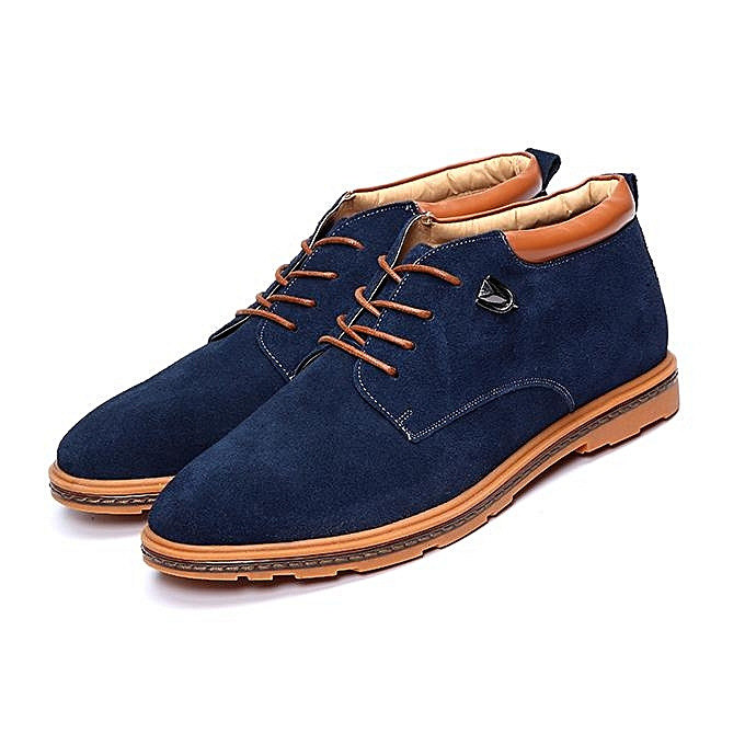 Fashion Fashion Men chaussures Suede Oxfords baskets Ankle bottes with Warm Wool Fleece Lining-EU à prix pas cher    Jumia Maroc