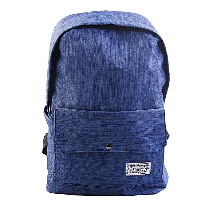 Generic mode and mode Simple toile sac à dos Preppy Style Student School sac à prix pas cher
