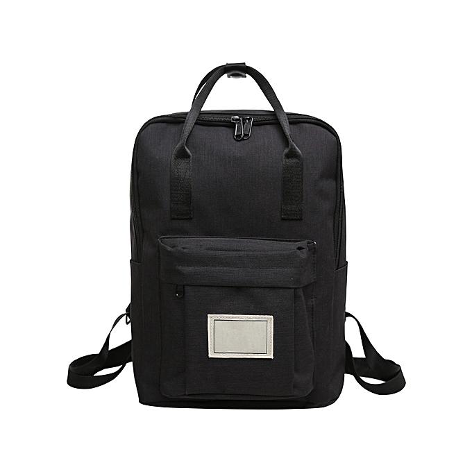 mode Tcetoctre Cute Mini sac à dos bourse petit voyage Daypack Handsac-noir à prix pas cher